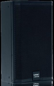 QSC E110 speaker from the QSC E Series family