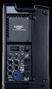 QSC K8.2 speaker rear