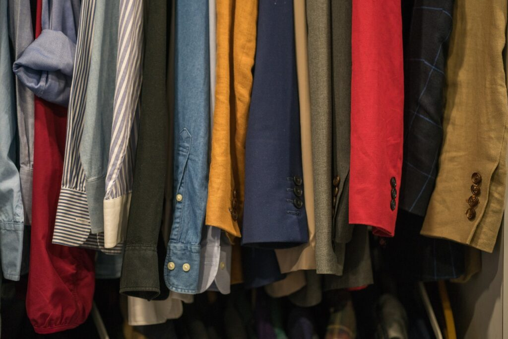 recording in a closet full of clothes is a great way to cut down on echo and unwanted sound in your recordings