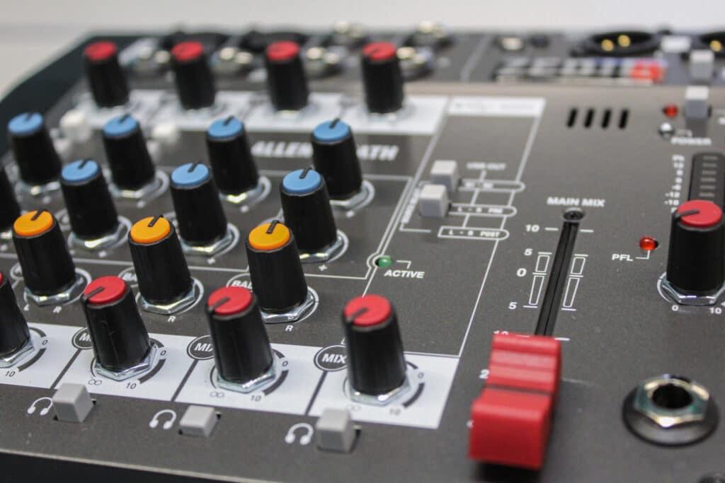 allen & heath ZEDi series of mixers