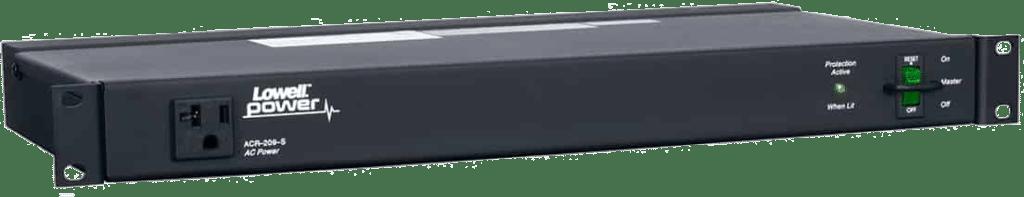 Lowell ACR-209-S rackmount power